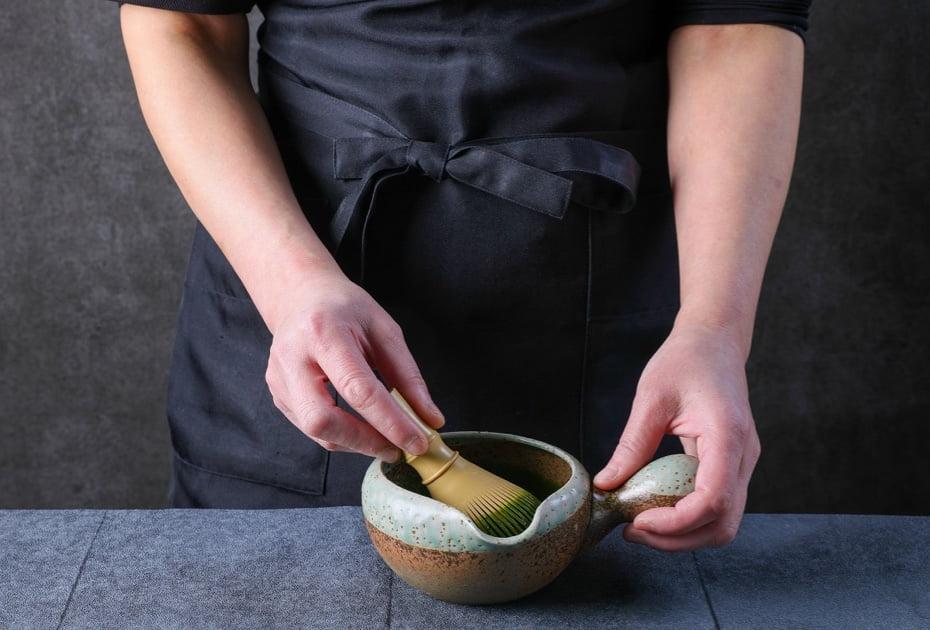 ご注文を頂いてから点てる「濃い茶」イメージ画像
